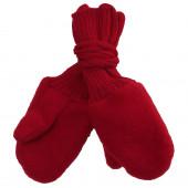 Reiff woolfleece mittens red