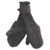 Reiff woolfleece mittens grey