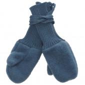 Reiff woolfleece mittens blue