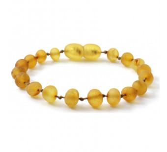 Amber bracelet joney coloured