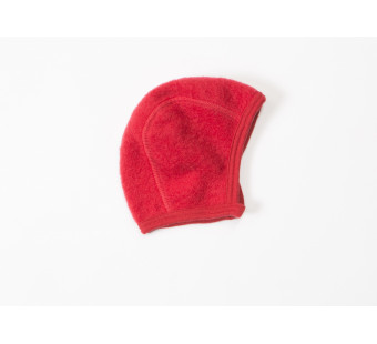 Lilano softly rubbed woolen hat red