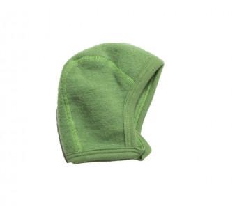Lilano wollfrottee-fleece mutsje groen