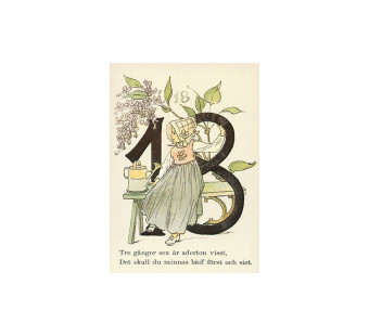 Postkaart 18 (Fem Adelborg)