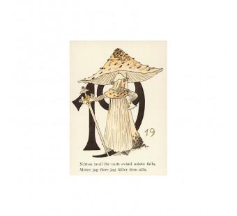 Postkaart 19 (Fem Adelborg)