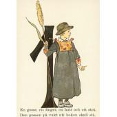 Postkaart 1 (Fem Adelborg)
