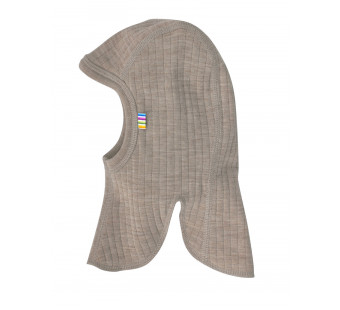 Joha brownish grey balaclava 100% wool
