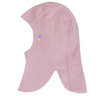 Joha old pink balaclava 100% wool