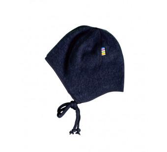 Joha  woolfleece bonnet navy (97974)