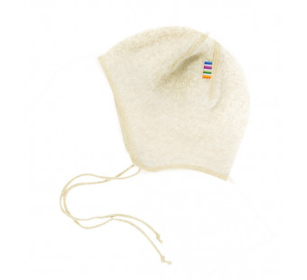 Joha  woolfleece bonnet natural (97974)