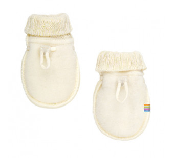 Joha woolfleece mittens natural (97978)