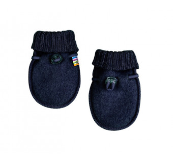 Joha woolfleece mittens navy (97978)