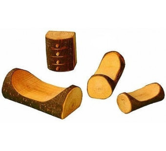 Magic wood set of 4 pieces for the bedroom.