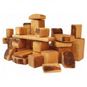 Bikeho set of 60 wooden blocks (3042)