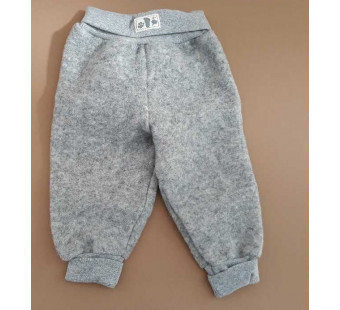 Lilano felted woolen pants grey