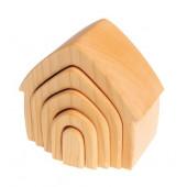Grimms houten huis naturel (10850)