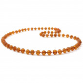 amber necklace cognac for adults with a length of 45cm