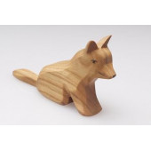 Predan houten staande hond