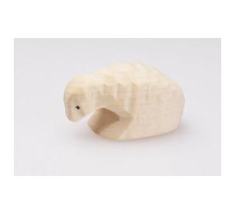 Predan houten liggend schaap