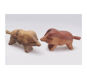 Predan wooden swine
