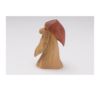 Predan wooden dwarf red hat