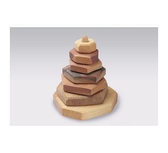 Predan wooden stacking tower