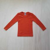Cosilana long sleeve shirt 70% wool 30% silk orange (71233)