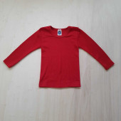 Cosilana lange mouw shirt 70% wol 30% zijde rood (71233)