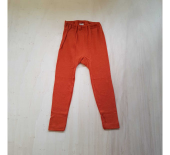 Cosilana leggings 70% wool 30% silk orange (71212)