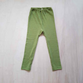 Cosilana leggings 70% wool 30% silk green (71212)