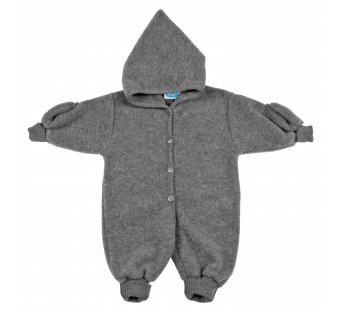 Reif merino woolfleece overall grey