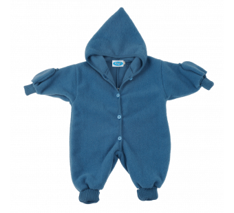 Reif merino woolfleece overall blue