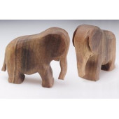 Predan large wooden elephant