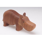 Predan large wooden rhino