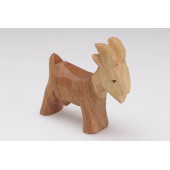 Predan wooden sitting cat