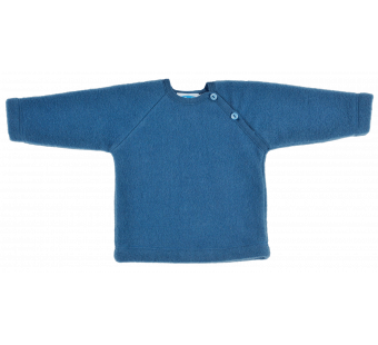 Reiff woolfleece sweater pacific blue