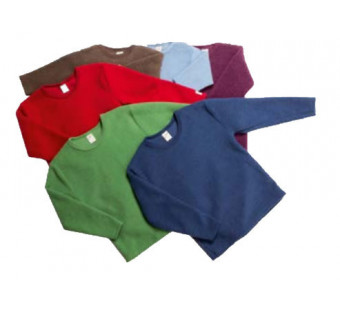 Lilano softly rubbed woolen sweater different colours