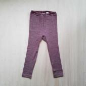 Cosilana leggings cotton/wool/silk brown (91211)