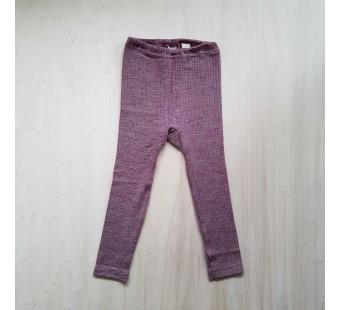 Cosilana leggings cotton/wool/silk burgundy (91211)