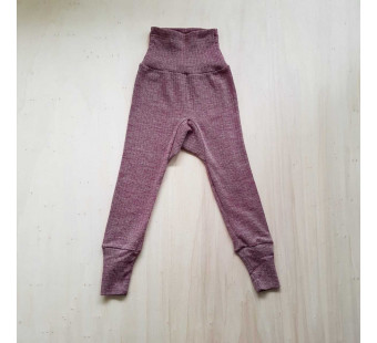 Cosilana pants cotton/wool/silk burgundy (91016)