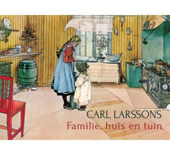 Carl Larssons familie, huis en tuin