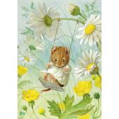 Postal card  The Swing (Racey Helps)