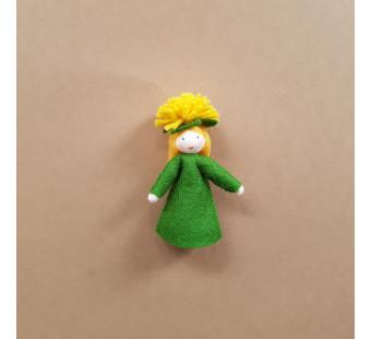 Seasonal doll dandelion