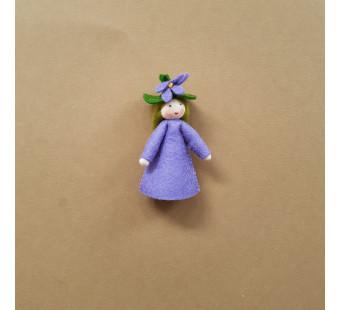 vilten poppetje viooltje