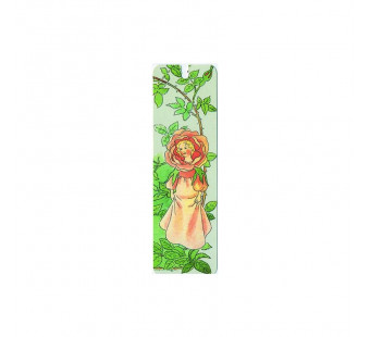 Bookmarker Flower girl (Elsa Beskow)