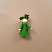 Seasonal doll clover with ladybug