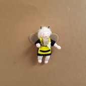 Seasonal doll black bee