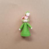 Seasonal doll Blooming Branch
