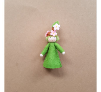 Seasonal doll Blooming Branch