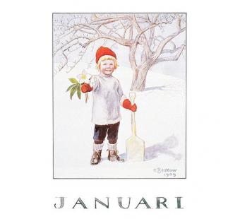 POSTER a4 Januari (Elsa Beskow)