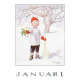 Poster A4 January (Elsa Beskow)